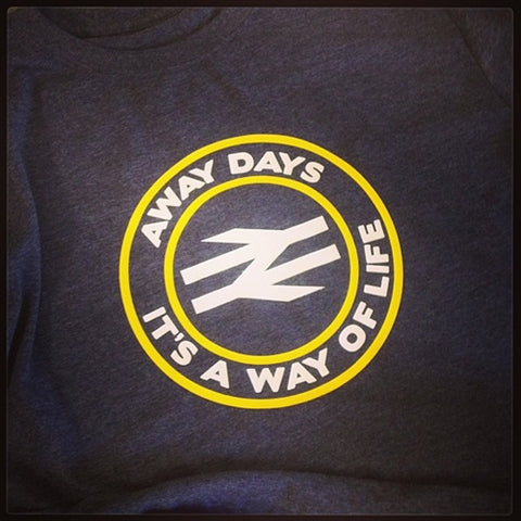 Terrace Life Away Days - It's A Way Of Life Rail T Shirt