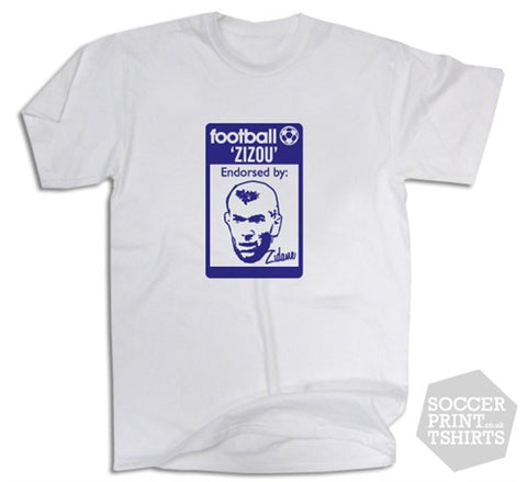 Zinedine Zidane France Originals Casuals T-Shirt