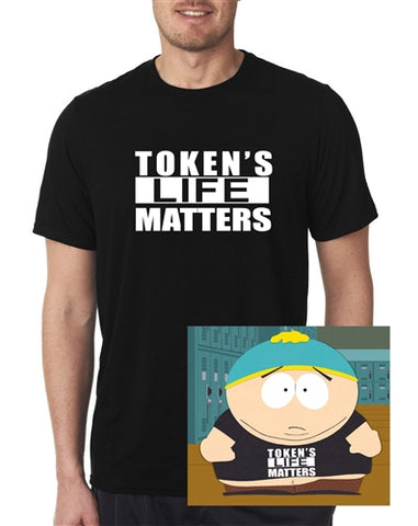 Funny South Park Token's Life Matters T-Shirt