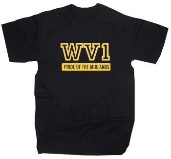 Wolverhampton WV1 Pride Of The Midlands T-Shirt