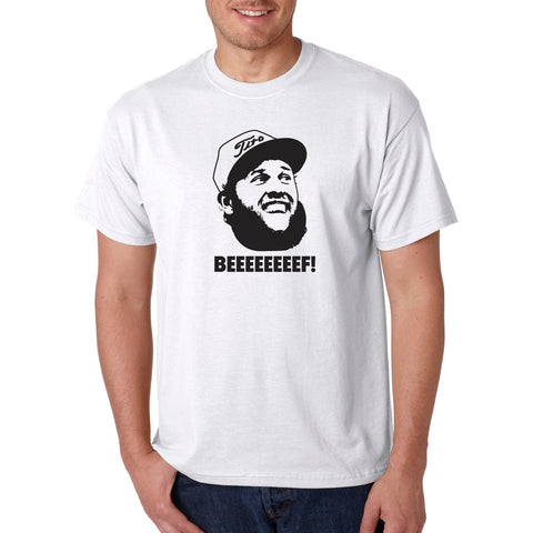 Andrew Johnson 'Beef' Funny Golf T-Shirt