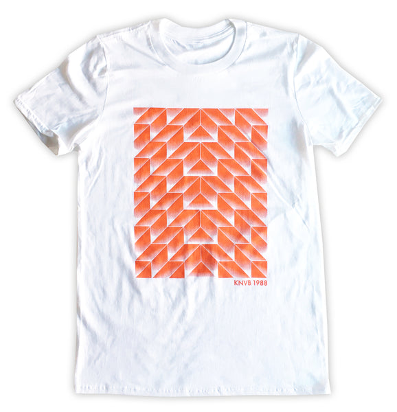 Holland 1988 Geometric Pattern T-Shirt