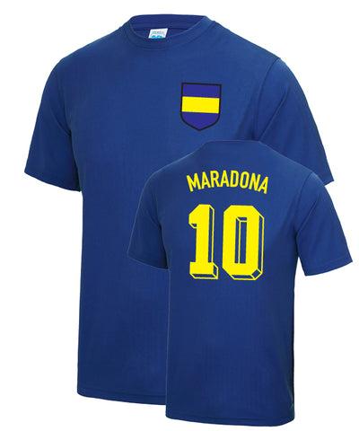 Diego Maradona Boca Juniors Number 10 Legend T-Shirt