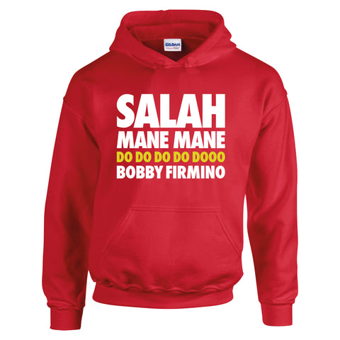 Funny Liverpool Salah Mane Firmino Football Song Chant T-Shirt
