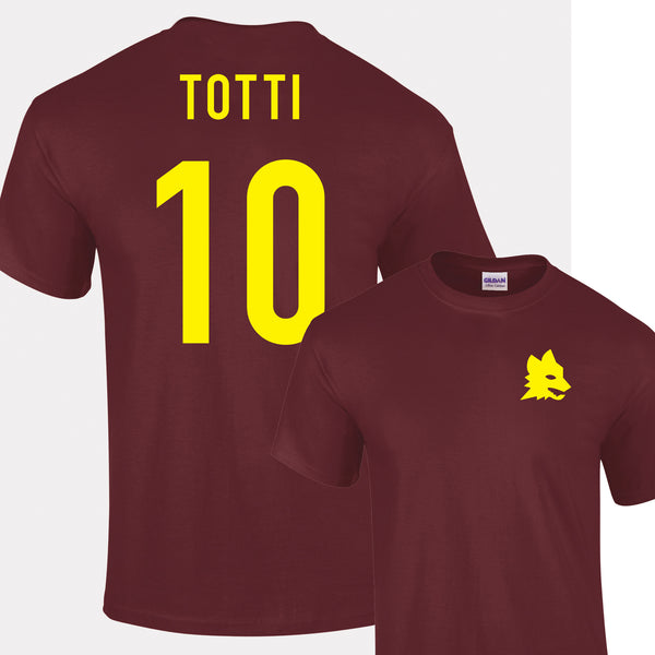 Francesco Totti Roma No.10 Legend T-Shirt