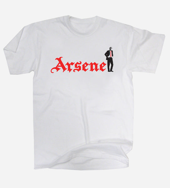 Arsene Wenger Tribute Arsenal Football T-Shirt