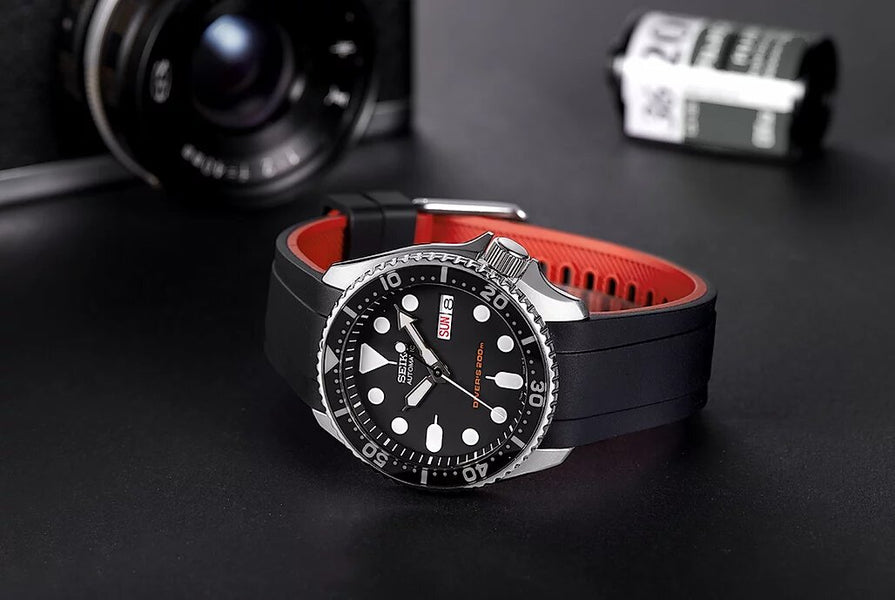 Crafter Blue Diver Strap for your Seiko SKX