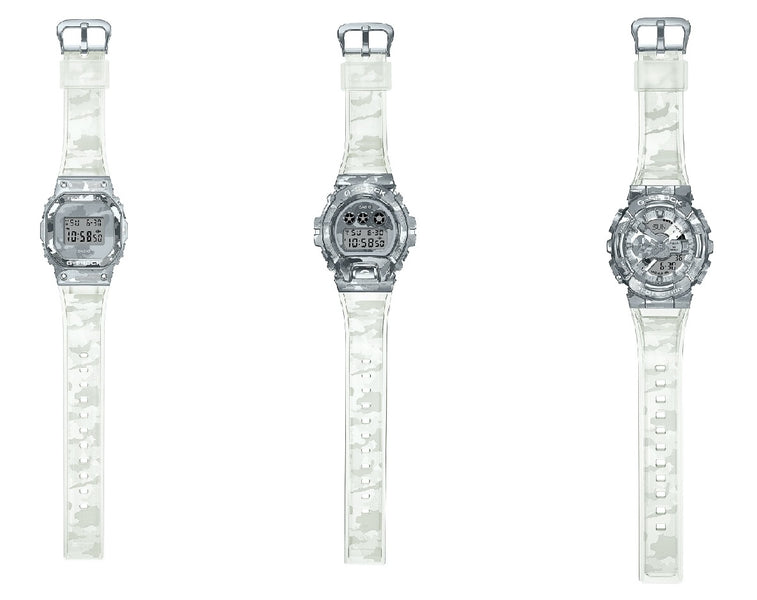 G-Shock Rocks This Summer With Icy Metal Camouflage