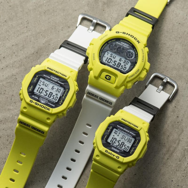 Casio G-shock Lightning Yellow Series for Team G-Shock/Baby-G