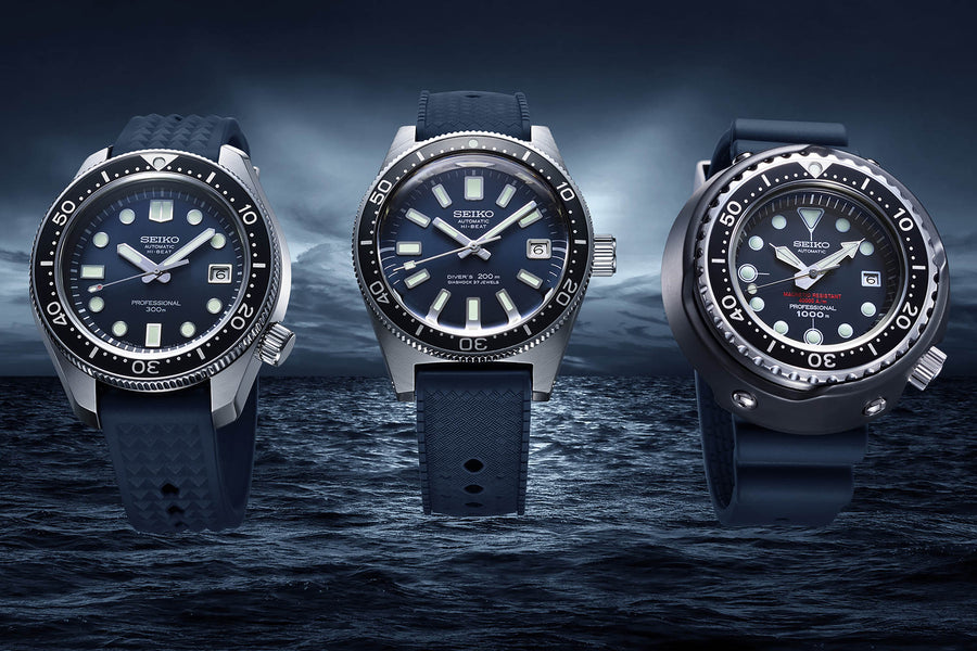 The Seiko Diver's 55th Anniversary Trilogy of Iconic Reissues - SLA037 Has Arrived!