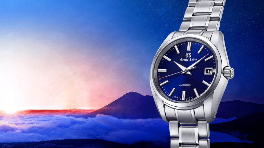 "At the latter half of 2020, Grand Seiko presents another 60th Anniversary limited edition: SBGR321 - ""Mount Iwate, the beauty of dawn"""