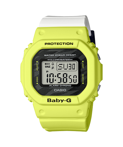 CASIO G-SHOCK LIGHTNING YELLOW SERIES BGD-560TG-9JF www.watchoutz.com