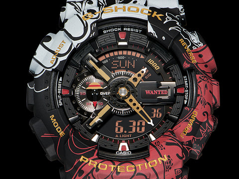 Casio G-shock X One Piece GA-110JOP-1A4 www.watchoutz.com
