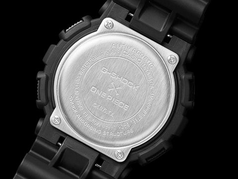 Casio G-shock X One Piece GA-110JOP-1A4 case back www.wtachoutz.com
