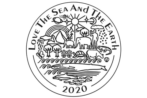 2020 Love The Sea And The Earth limited editions case back special engravement