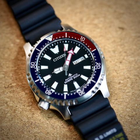 CITIZEN Promaster CITIZEN Promaster Automatic 200M Diver Fugu Limited Edition NY0110-13E watchoutz.com