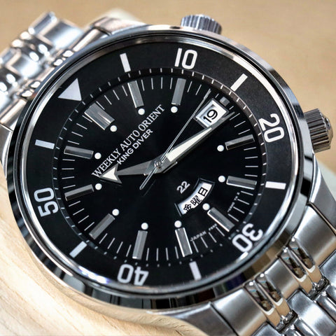 Orient Revival King Diver 70Th Anniversary Limited Model RN-AA0D11B watchoutz.com