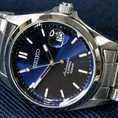 Seiko Mechanical Automatic Blue Dial JDM Edition SZSB016 www.watchoutz.com