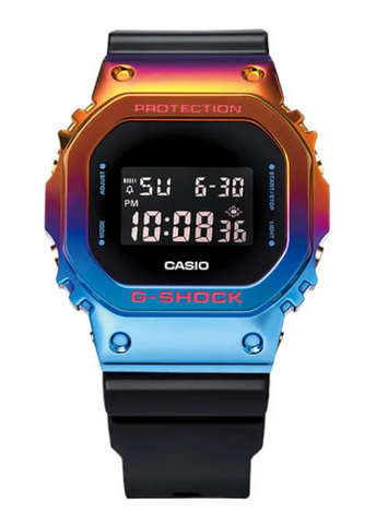 The Casio G-Shock China crossover BE@RBRICK Shanghai Night Series GM-5600SN-1 Limited www.watchoutz.com