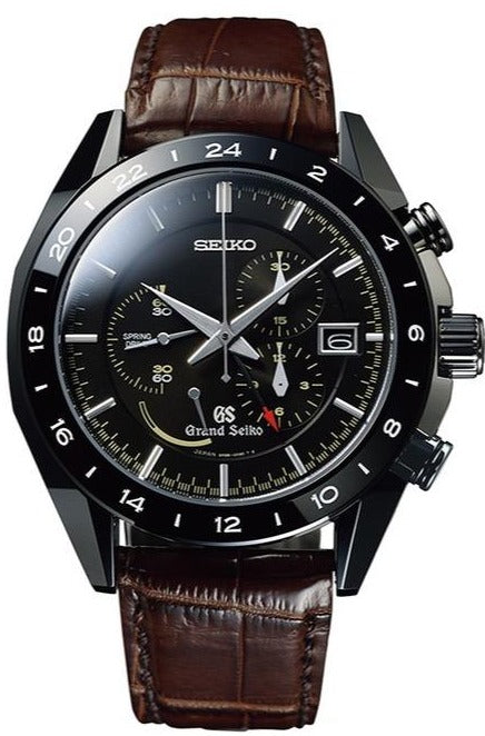 Grand Seiko Sports Collection Black Ceramic Limited Edition SBGC015 www.watchoutz.com
