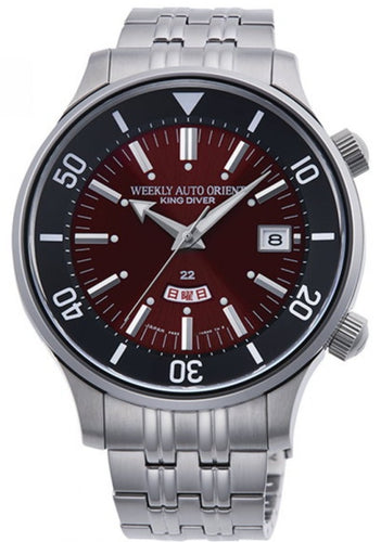 ORIENT REVIVAL KING DIVER 70TH ANNIVERSARY LIMITED MODEL RN-AA0D12R www.watchoutz.com