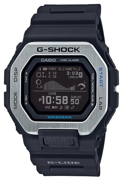 CASIO G-SHOCK G-LIDE GBX-100-1 Black www.watchoutz.com