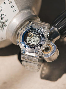 Casio G-shock ICERC Love the Sea and the Earth Frogman  GF-8251K-7JR Promo www.watchoutz.com