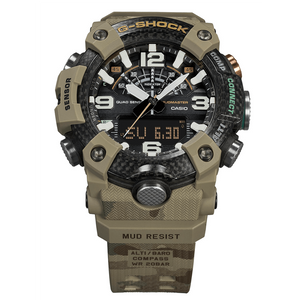 Casio G-shock British Army Master of G Mudmaster GG-B100BA-1ADR Band www.watchoutz.com