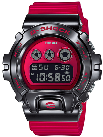 CASIO G-SHOCK METAL BEZEL GM-6900B-4 www.watchoutz.com