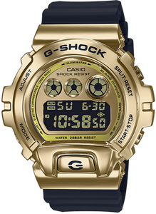 CASIO G-SHOCK METAL BEZEL GM-6900G-9 www.watchoutz.com