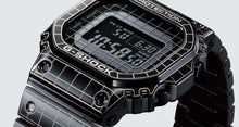Casio G-shock GMW-B5000CS-1 Full Metal Grid Design Time Tunnel Bezel Face www.watchoutz.com