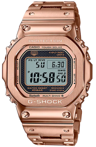 Casio G-Shock GOLD INGOT motif series Full Metal Rose Gold GMW-B5000GD-4 www.watchoutz.com