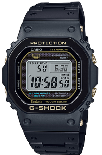Casio G-shock GMW-B5000TB-1DR Full Metal Titanium Black and Gold www.watchoutz.com