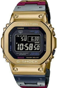 Casio G-shock Full Metal TranTixxii Titanium Multi-color GMW-B5000TR-9 www.watchoutz.com