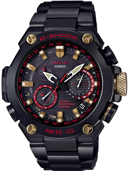 Casio G-Shock MR-G Titanium Akazonae Red MRG-G1000B-1A4 www.watchoutz.com