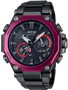 Casio G-Shock MT-G Multiband 6 Tough Solar MTG-B2000BD-1A4 www.watchoutz.com