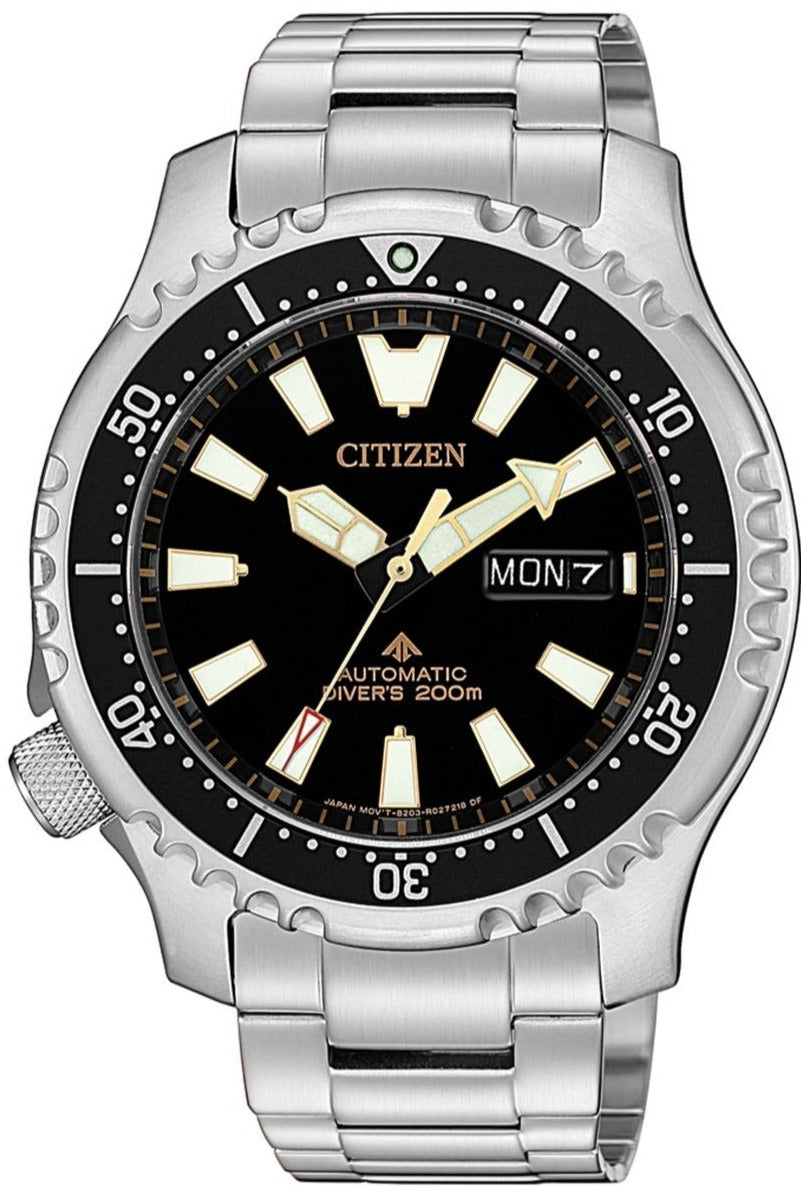 CITIZEN Promaster Automatic 200M Diver Fugu Asian Limited Edition NY0090-86E www.watchoutz.com