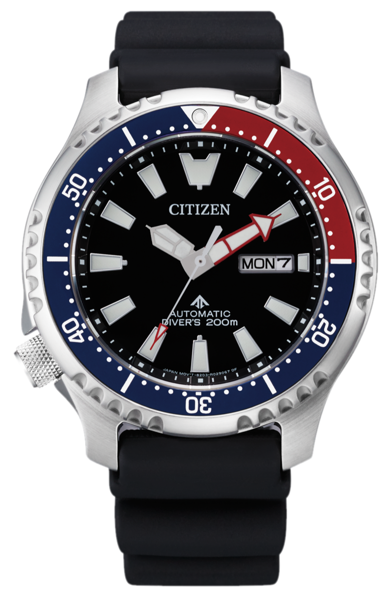 CITIZEN Promaster Automatic 200M Diver Fugu Limited Edition NY0110-13E www.watchoutz.com