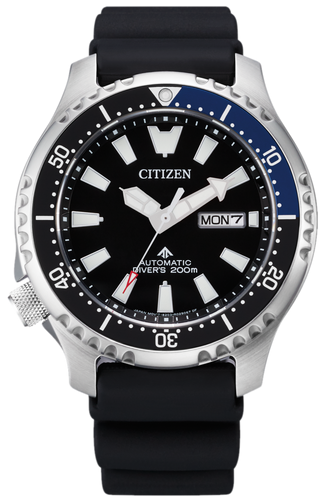 CITIZEN Promaster Automatic 200M Diver Fugu Limited Edition NY0111-11E www.watchoutz.com