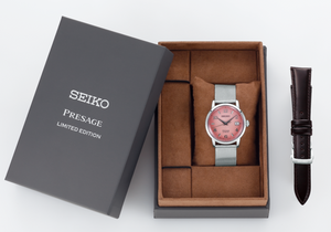 SEIKO PRESAGE AUTOMATIC BAR COCKTAIL TEQUILA SUNSET SARY169 (SRPE47J1) box www.watchoutz.com