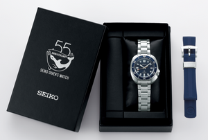 SEIKO PROSPEX DIVER'S WATCH 55TH ANNIVERSARY LIMITED EDITION SBDC123 (SPB183J1) box watchoutz.com