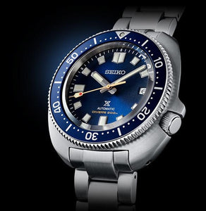 SEIKO PROSPEX DIVER'S WATCH 55TH ANNIVERSARY LIMITED EDITION SBDC123 (SPB183J1) side watchoutz.com