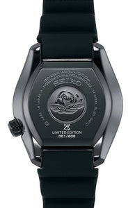SEIKO PROSPEX SBDX033 MM300 Black Series Limited Edition Back www.watchoutz.com