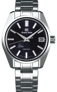 Grand Seiko Heritage Collection Automatic Spring Drive 3-day Date Display Blue Dial SBGA375 www.watchoutz.com