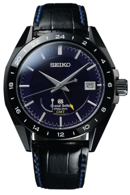 Grand Seiko Sports Collection Black Ceramic Limited Edition SBGE039 watchoutz.com