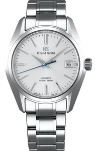 Grand Seiko Heritage Collection Automatic Hi-Beat Date Display White Dial SBGH201 www.watchoutz.com