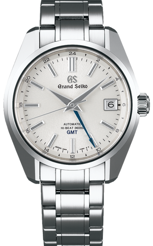 Grand Seiko Heritage Collection Automatic Hi-Beat GMT White Dial SBGJ201 www.watchoutz.com