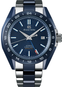 GRAND SEIKO Blue Ceramic Hi-Beat Automatic GMT 36000 Limited Edition SBGJ229 www.watchoutz.com