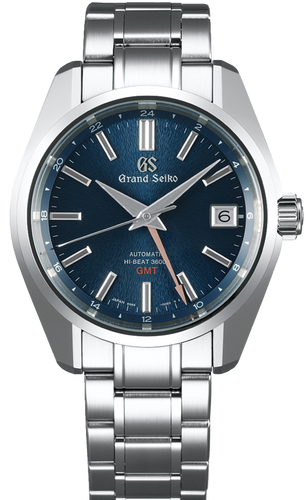 GRAND SEIKO SBGJ235 Automatic Hi-beat 36000 GMT www.watchoutz.com
