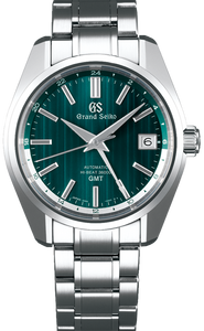 Grand Seiko Heritage Collection Forest Green Limited Edition Automatic Hi-Beat 36000 GMT SBGJ241 www.watchoutz.com